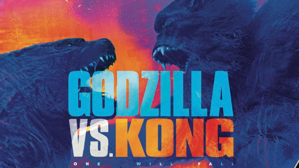Godzilla v Kong banner