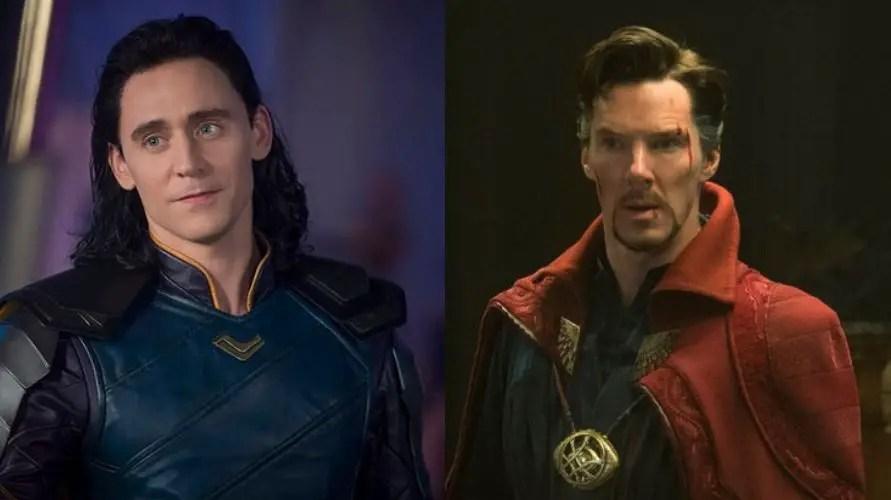 Loki/doctor Strange