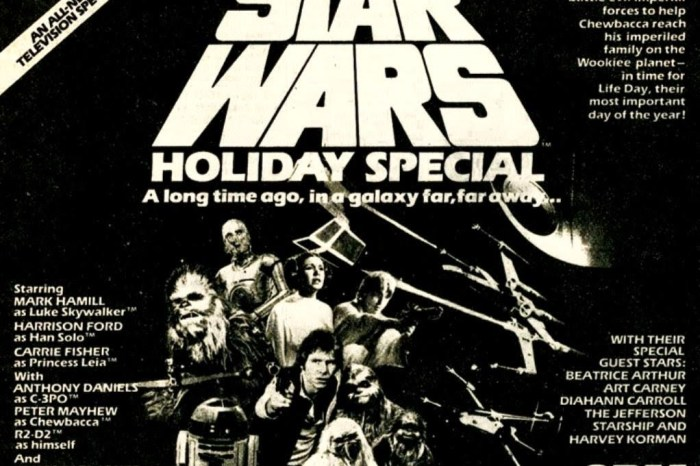 Celebrating Star Wars: 'The Star Wars Holiday Special' Is A Necessary Evil