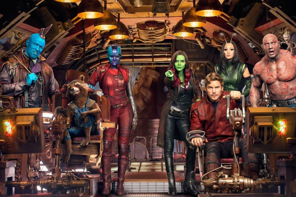 The full cast of Guardians of the Galaxy 2
