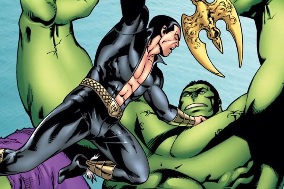 Namor vs the Hulk