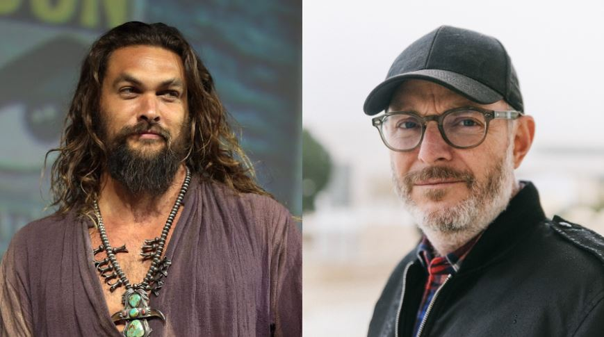 Jason Mamoa and Francis Lawerence