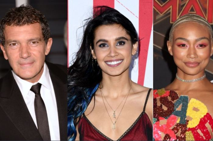 Antonio Banderas, Sophia Ali & Tati Gabrielle Board Tom Holland's 'Uncharted'