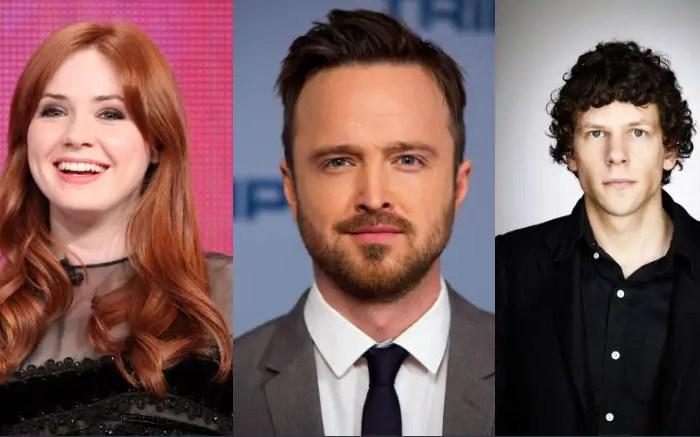Karen Gillan, Aaron Paul, & Jesse Eisenberg To Star In Riley Stearns' 'Dual'