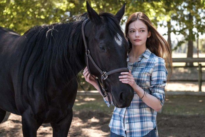 Disney+ Picks Up 'Black Beauty' Adaptation Starring Mackenzie Foy & Kate Winslet