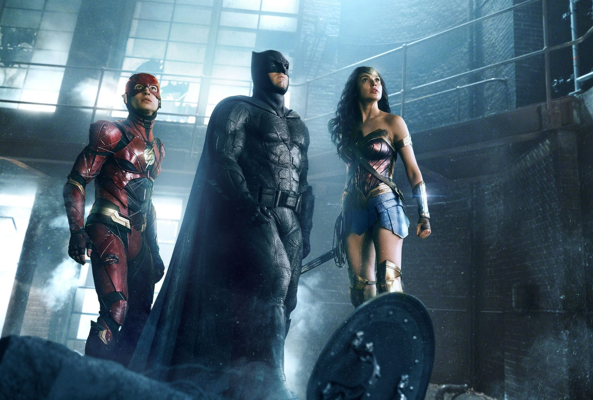 Justice League - The Flash, Batman and Wonder Woman