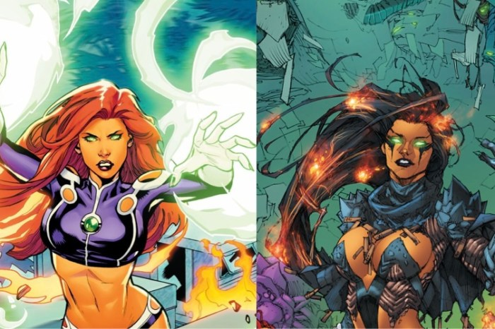 Details On Starfire & Blackfire's Costumes In 'Titans' Season 3 Revealed