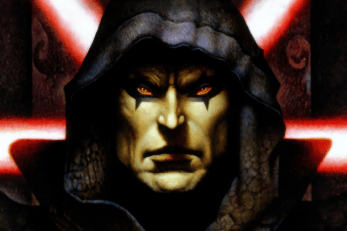 Disney Has Plans To Use Darth Bane In Multiple Projects