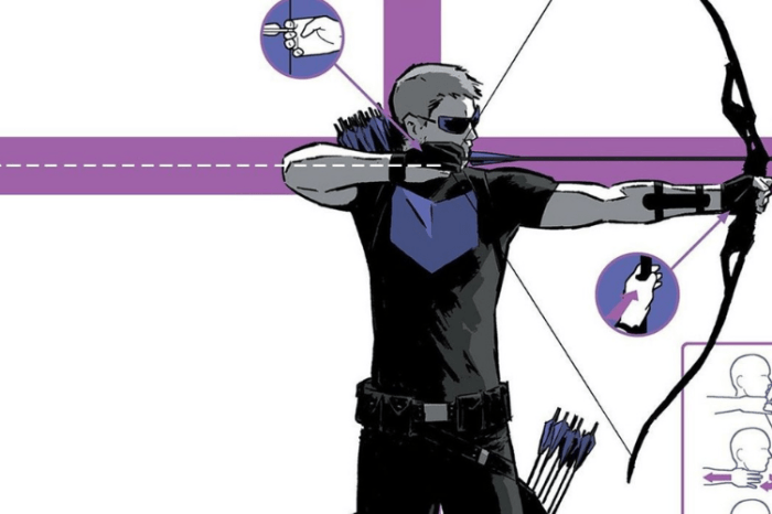 'Hawkeye' Set Photo Reveals Jeremy Renner In Comic-Accurate Costume
