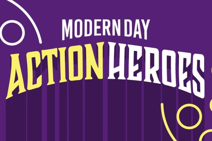 Top 5 Modern Day Action Heroes