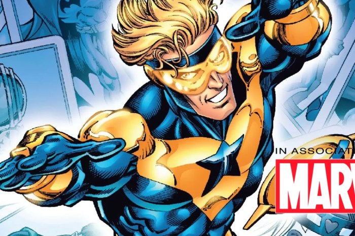 Marvel/DC Film In Development At Peacock; Booster Gold To Star