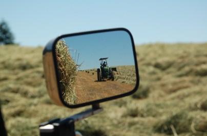 baling hay