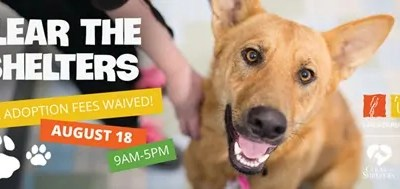Clear the Shelters Event 08.18.18