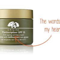 Product Review: Origins Plantscription SPF 25 Anti-Aging Oil-Free Cream