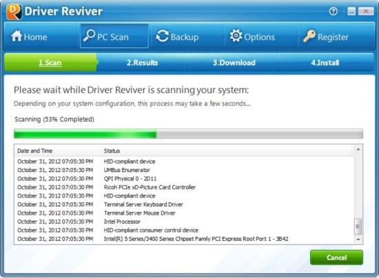 Driver Reviver 5.25.10.12 Crack
