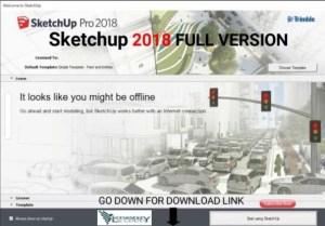 Google SketchUp Pro 2018 Crack
