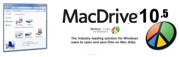 MacDrive 10.5.0 Crack