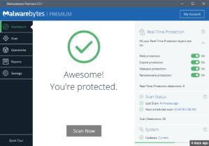 Malwarebytes 3.5.1 Crack