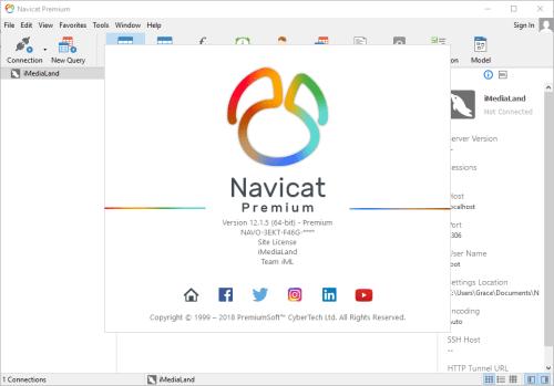 Navicat Premium 12.1.5 Crack
