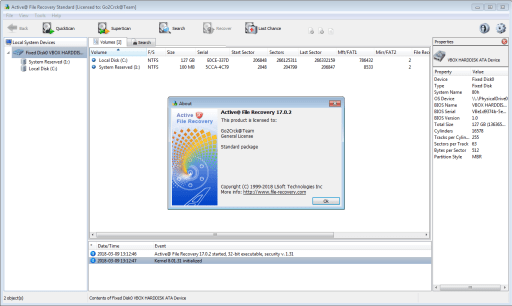 Active@ File Recovery 17.0.2 Crack