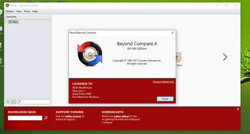 Beyond Compare 4.2.8 Build 23479 Crack