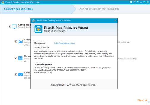 EaseUS Data Recovery Wizard 12.6 Crack
