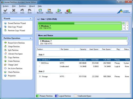 crack aomei partition assistant standard edition 7.5.1
