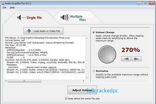 Audio Amplifier Pro 2.2.1 with Crack [Latest Version] 2021