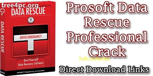 Prosoft Data Rescue Professional 6.0.4 Crack + Serial Key [Latest] 2021