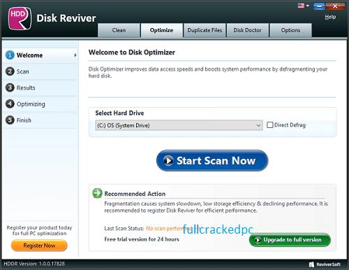 ReviverSoft Disk Reviver 1.0.0.18394 Crack + License Key Download 2021