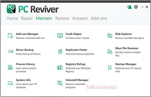 PC Reviver 5.37.0.28 Crack + License Key Free Download 2021