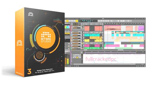 Bitwig Studio 3.3.7 Crack + Product Key Free Download [Latest] 2021