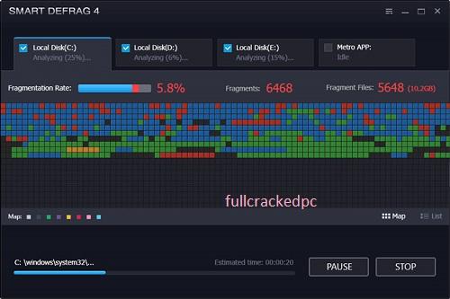 IObit Smart Defrag Pro 6.7.5.30 Crack + Serial Key {Latest Version} 2021