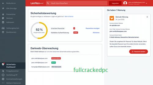 LastPass Password Manager 4.76.0 Crack + Keygen Key Free Download