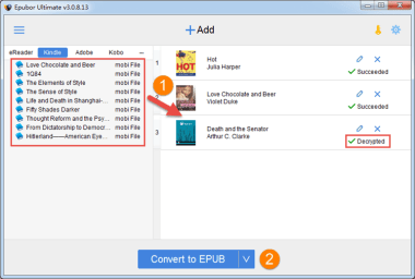Epubor Ultimate Ebook Converter 3.0.10.627
