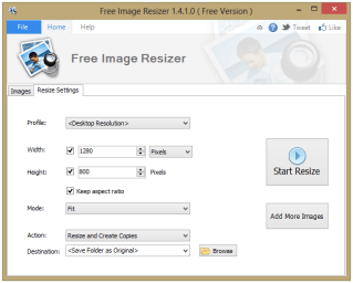Free Picture Resizer 1.0.1.2