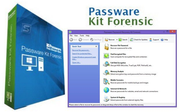 Passware Kit 2019.1.3 Crack