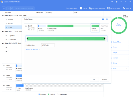 EaseUS Partition Master Key 13.8 License Code For FREE