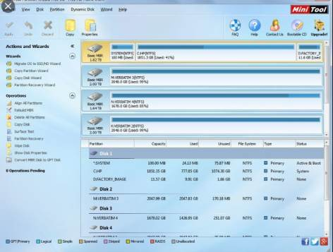 MiniTool Partition Wizard Full Crack 11.6 + Serial Key 2020
