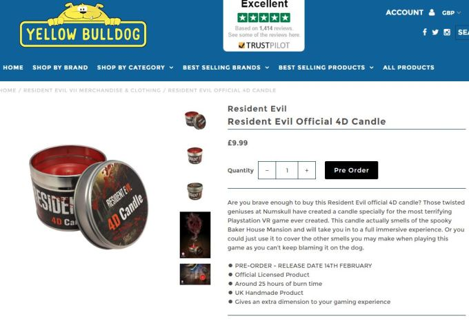 resident-evil-4d-candle