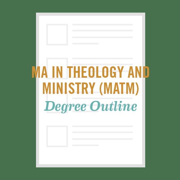 Ma Theology Degree Outline Fuller Seminary