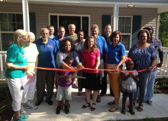 Fuller Center dedicates 2 homes in Hammond, LA; 1 going up next week in Pearl River, LA