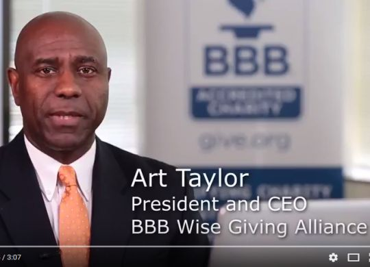 Fuller Center's ministry featured in BBB Wise Giving Alliance's Building Trust video