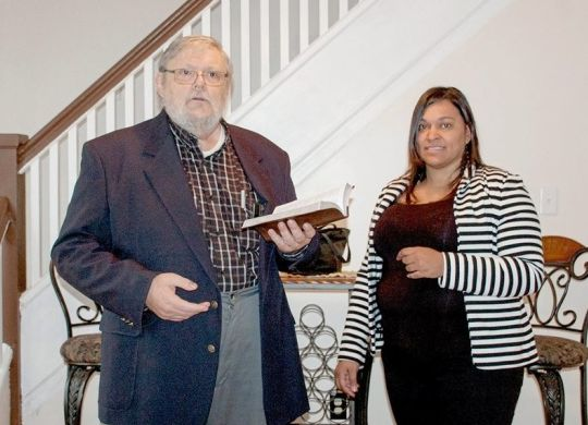 New covenant partner in Hazleton, Pa., dedicates first house with Fuller Center