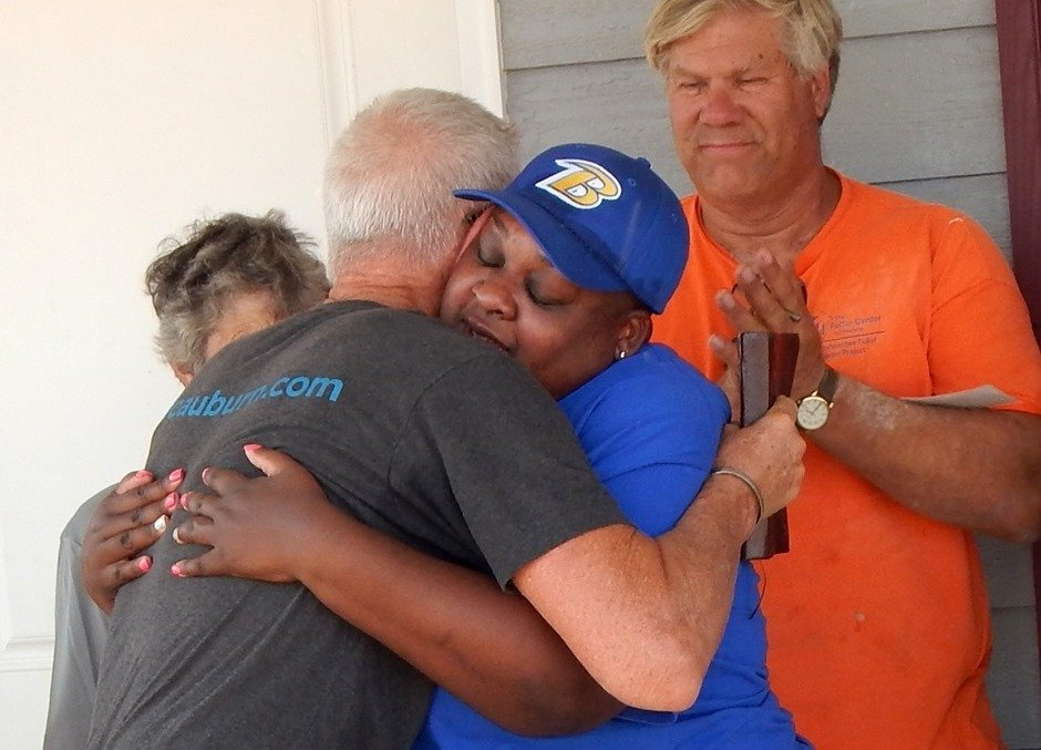 Tiffany Robinson lost both of her parents in the March 3 Alabama tornado.