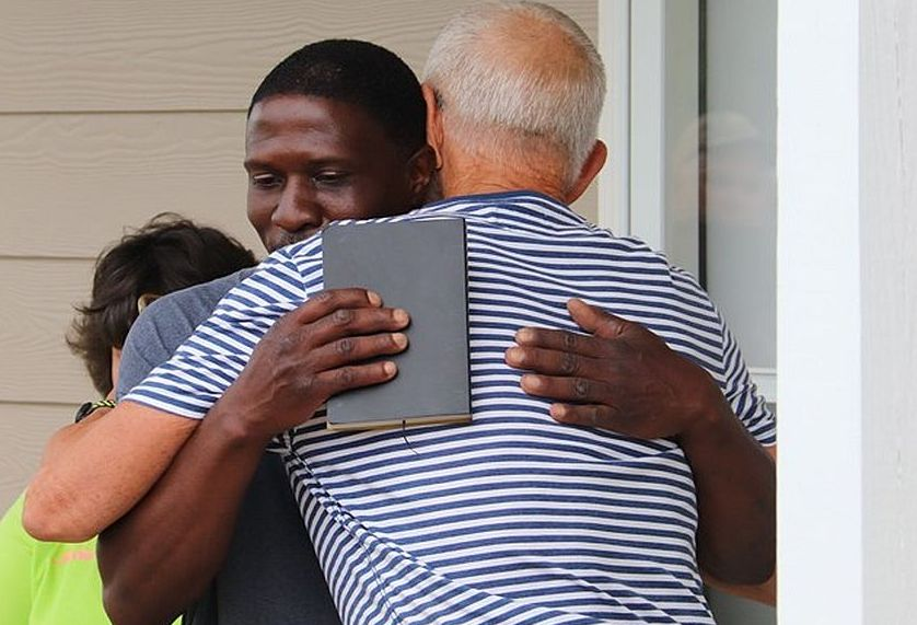 Wayne Robinson, who lost his sister in the March 3 tornado, was among our first three homeowner partners in the Lee County, Alabama, tornado recovery.