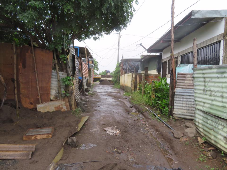 Common residential area in Leon