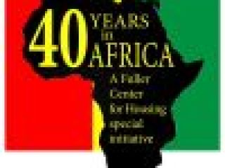 40 Years in Africa campaign ends successfully with 40 new homes