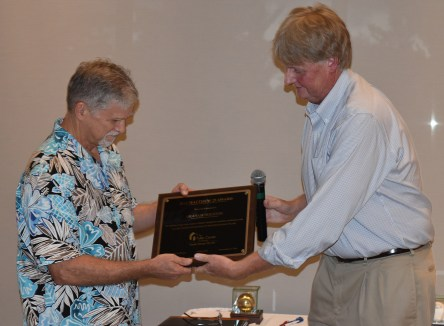 Graham Houston receives special Matthew 25 Award