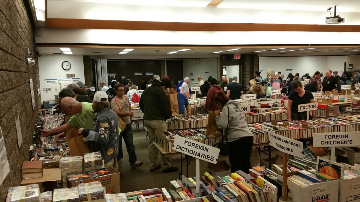 Friends of the Library Book Sale June 8th